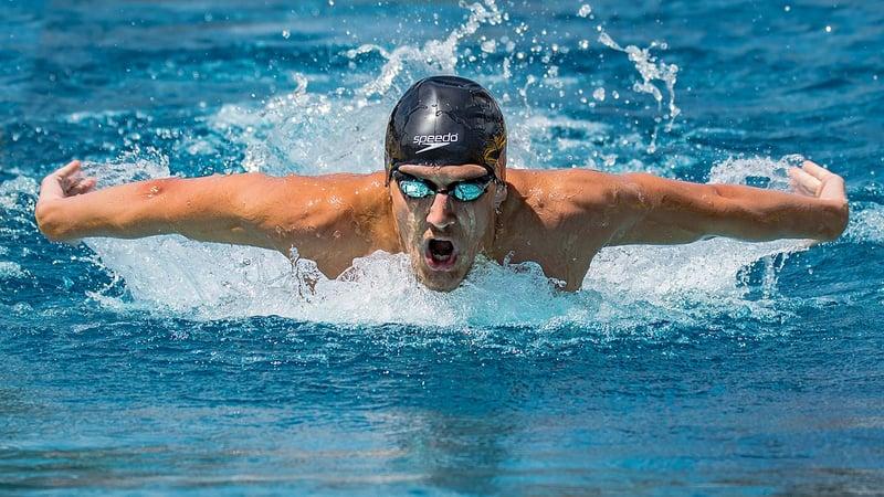 natation eau dos forme physique