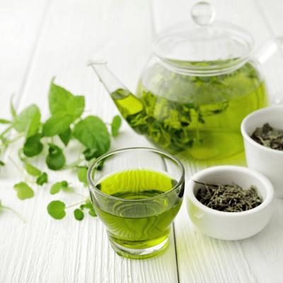 thé vert belle peau