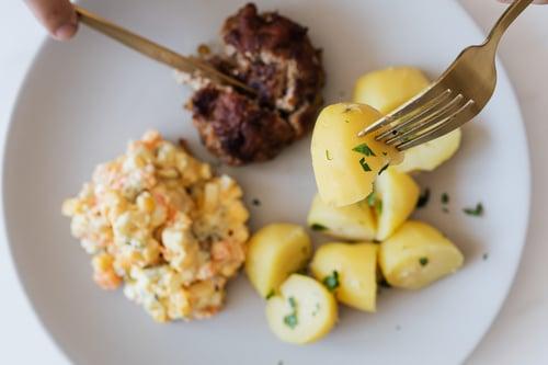 Les pommes de terre produit du mois de juin