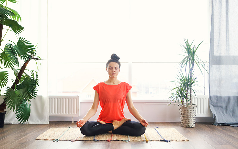 yoga relax detox sport