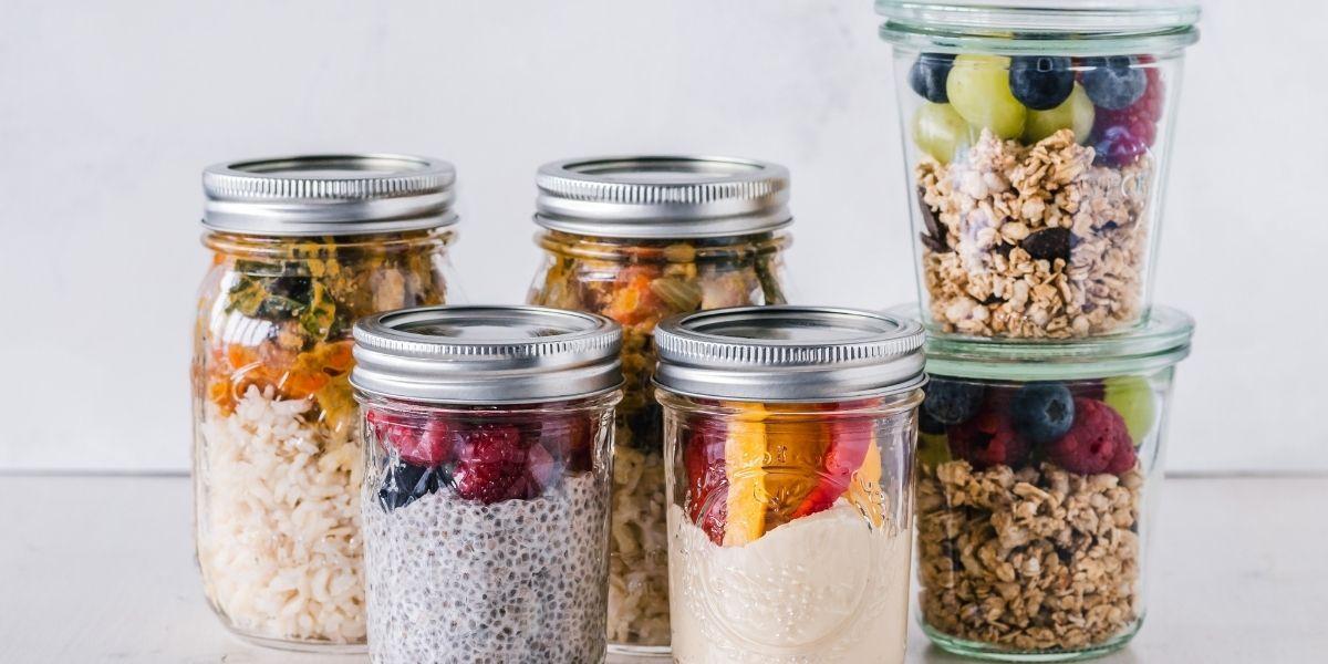 7 recettes de bocaux à base des fruits et légumes d'été